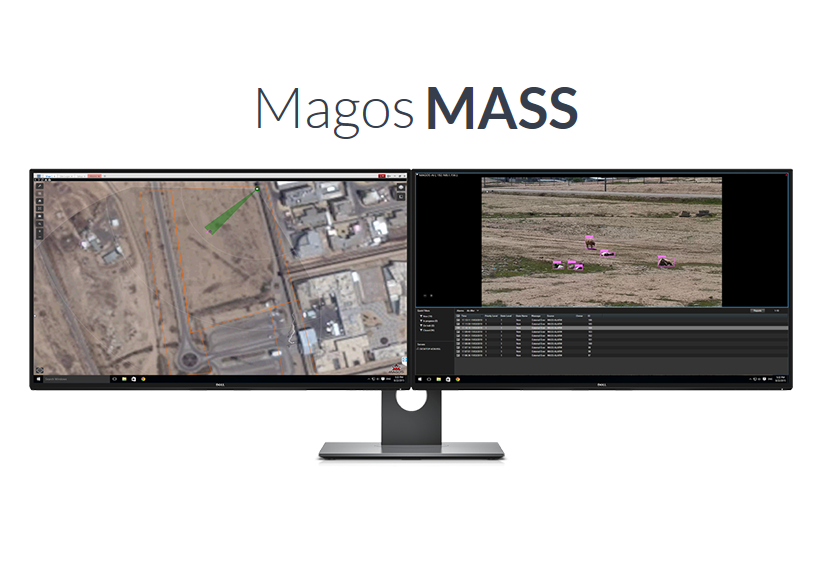 MS700A Magos Systems | SR-500 5 8Ghz Perimeter Protection